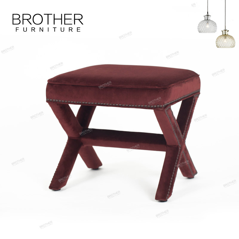 Groovy New Products Innovation Upholstery Home Furniture Fabric Small Low Wooden Red Ottoman Stool Buy Red Ottoman Stool Rustic Ottoman Stool Ottoman Style Customarchery Wood Chair Design Ideas Customarcherynet