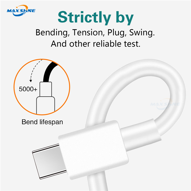 Maxshine Usb Type C Cable For Samsung Galaxy S9 S8 Plus For Xiaomi Mi 6 Type-C Usb Charger Cable