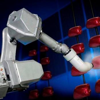 Sprey Boyama Robot Endüstriyel Arm Robotlar Araba Boyama Robot Buy