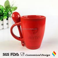 Wholesale 15oz coffee mug and spoon set