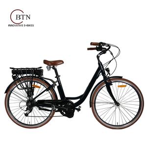 700C bafang 8fun 36V 250W green city e bike electric bikes for woman