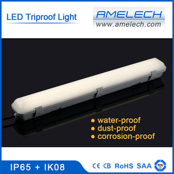 10-48w 600-1500mm Tri-proof Integrated Led Tube Light Led Batten With Milky  Cover - Buy Led Batten,Tri-proof,Integrated Led Tube Light With Milky