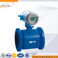 Measuring Device Shopping Competitive Price Water Electromagnetic Flowmeter with LCD Digital Display