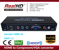 IPTV Media converter ypbpr hdmi mkv-336 upscaling 1080p laptop lcd to vga converter