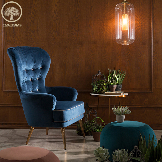Pleasing Blue Accent Wing Chair High Back Living Room Chiars Buy Wing Chair Blue Accent Chair High Back Living Room Chiars Product On Alibaba Com Pabps2019 Chair Design Images Pabps2019Com
