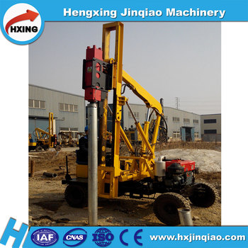 hot sale hand fence post driver