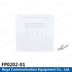 China Supplier Factory Price abs network face wall plate faceplate