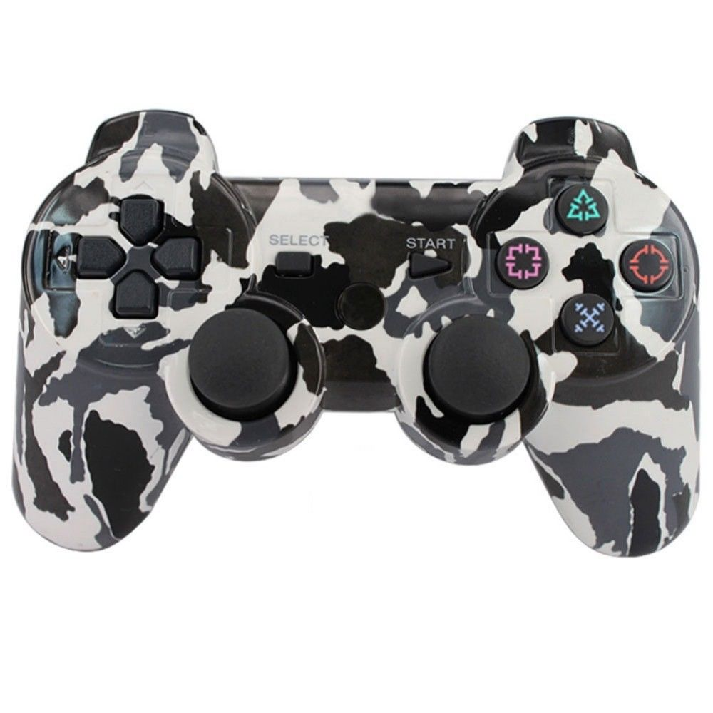 HOT P3 Controller Bluetooth camouflage Gamepad for Play Station 3 Joystick