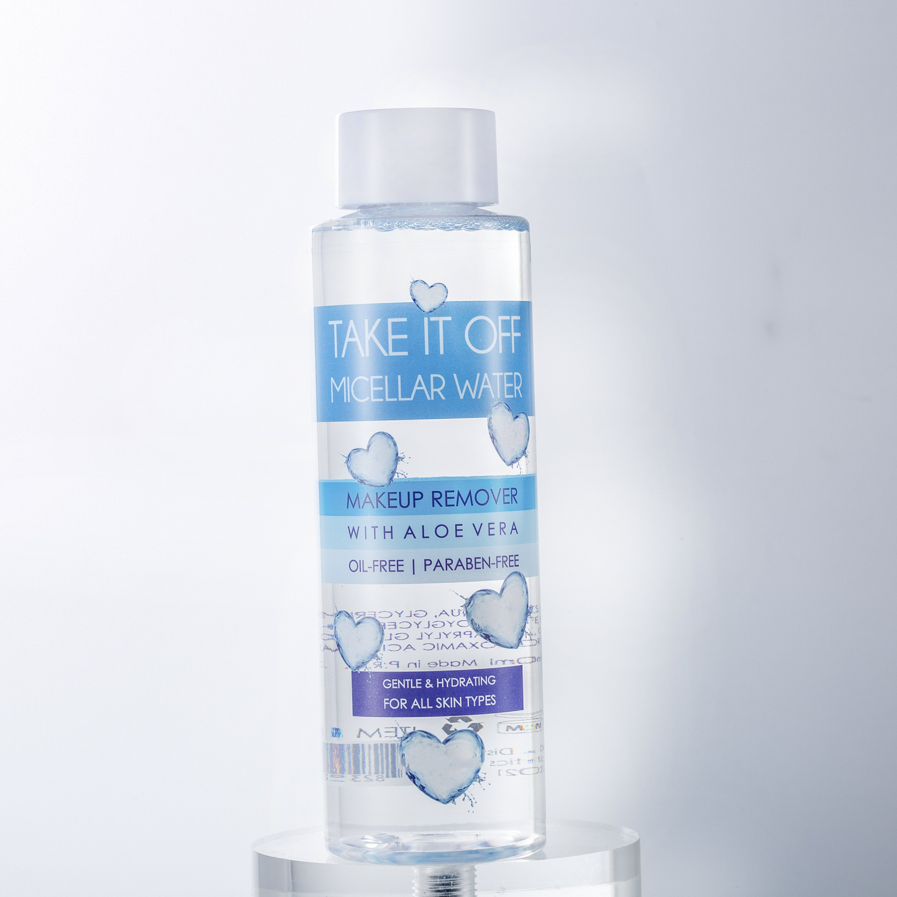 Professionele private label diepe reiniging make-up remover