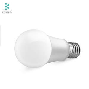 Hot Sale Smart Home Wirelessly Controlled Light Led Bulbs wifi remote control bulb konke