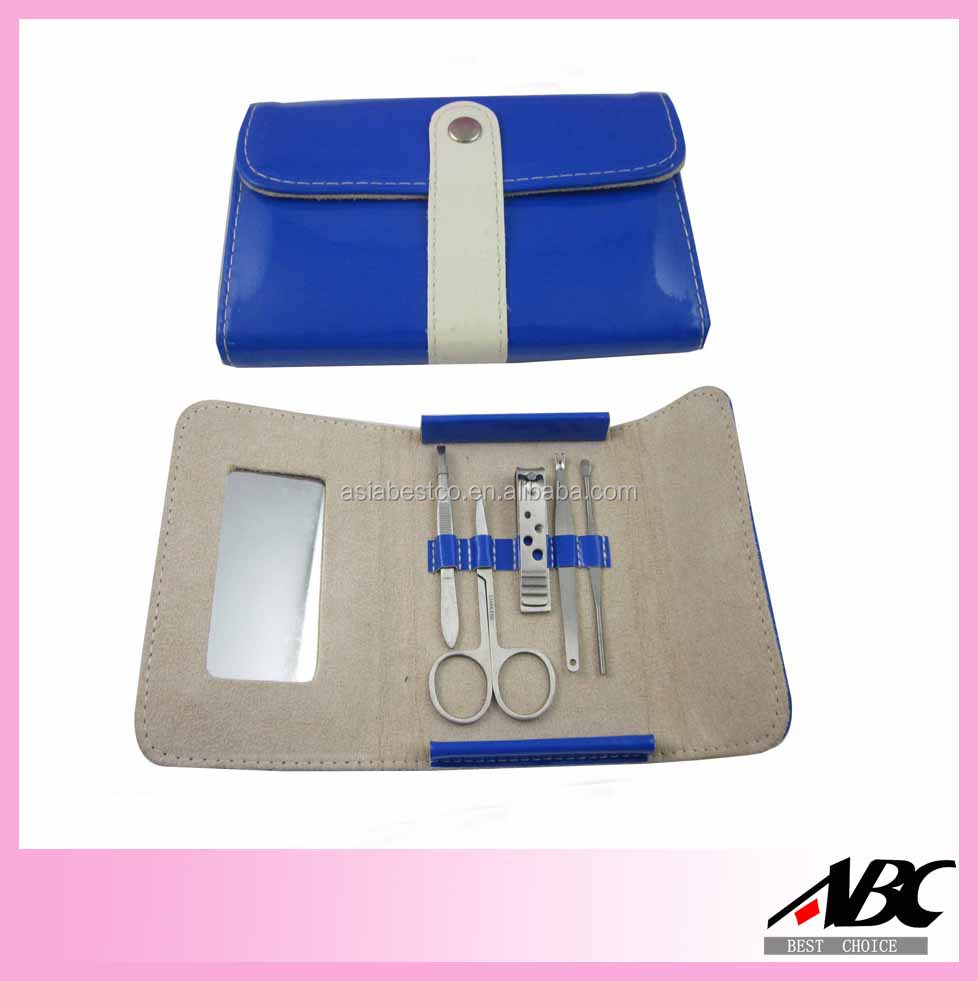 Beautiful Pouch All Stainless Steel Manicure Tool