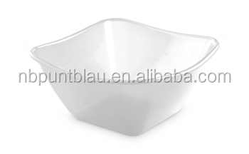 Newest and hot sale disposable clear fruit plastic bowl 4L