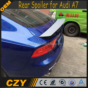 Rear Bumper Position FRP S7 RS7 Rear Spoiler Lip for Audi A7