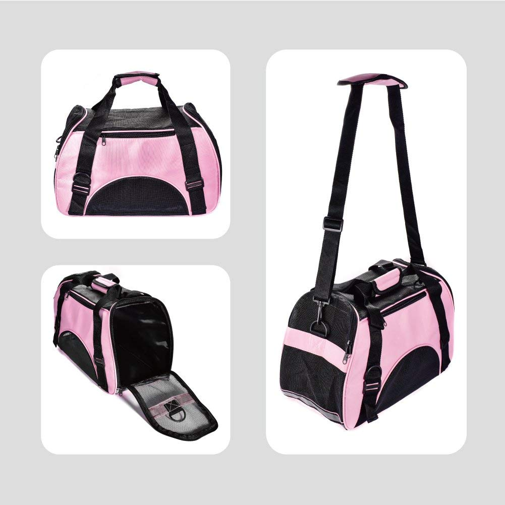 Airline Approved Soft-sided Travel Sling Pet Carrier For Dog