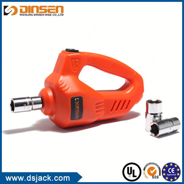DINSEN TOP Quality Factory Sale 12v impact wrench & electric jack set new style