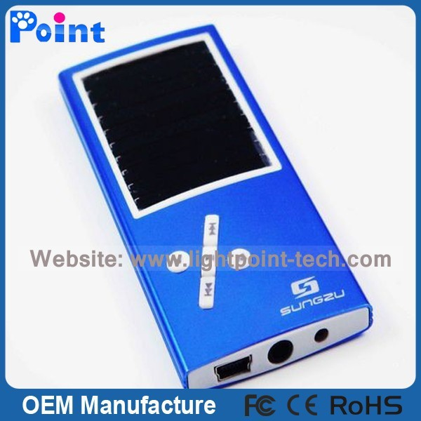 OEM Factory Price MP3 High Quality solar mp3 player