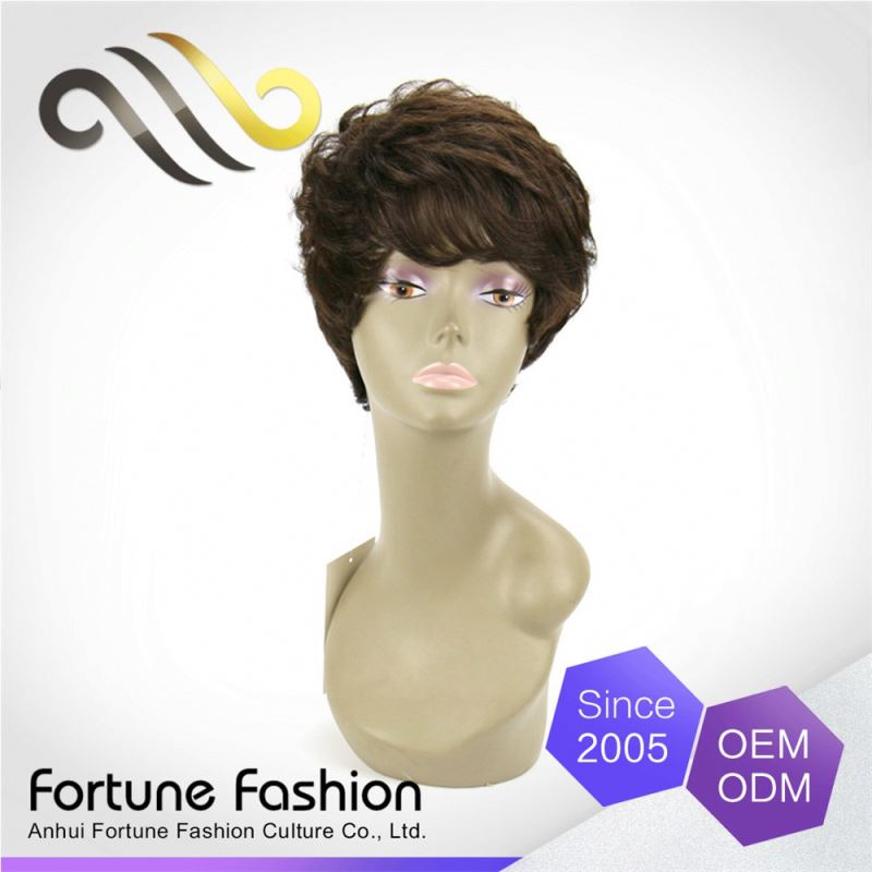 Oem Service Price Cutting Can Be Colored Auburn Hair Bulk Futura Wig For Wig Making