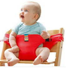 8 Kleuren Kids Stoel Booster stretch wrap Portable Babyzitje Product Dining Lunch <span class=keywords><strong>Veiligheidsgordel</strong></span> Feeding High Chair Harness Baby