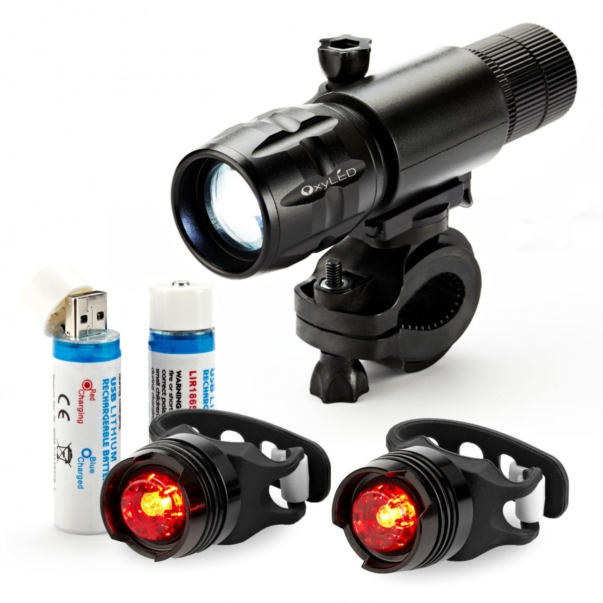 1c989bc0281 Get Quotations · OxyLED Bike Light