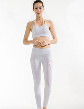 Oem Disesuaikan Gaya Pakaian Olahraga Wanita Olahraga Bra Kustom Yoga Celana Kebugaran Legging Putih Buy Putih Yoga Celana Kustom Legging Kebugaran Olahraga Bra Product On Alibaba Com