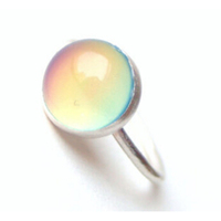 Top Sell Summer Sterling Silver Mood Ring