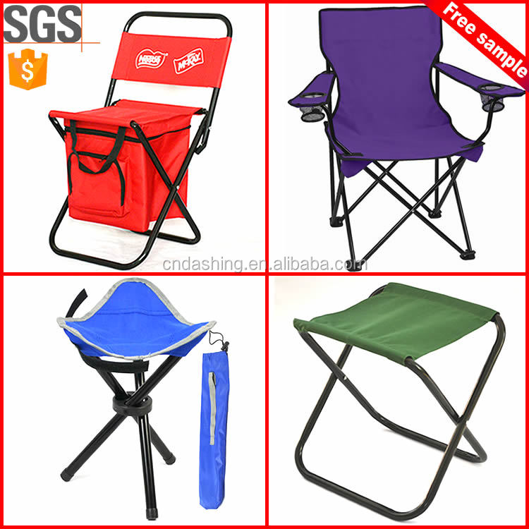 Portable folding camping chair with backrest/Outdoor lightweightfolding fishing camping stool
