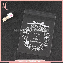 wholesale custom made clear laundry plastic opp printing bag. photo print plastic bags