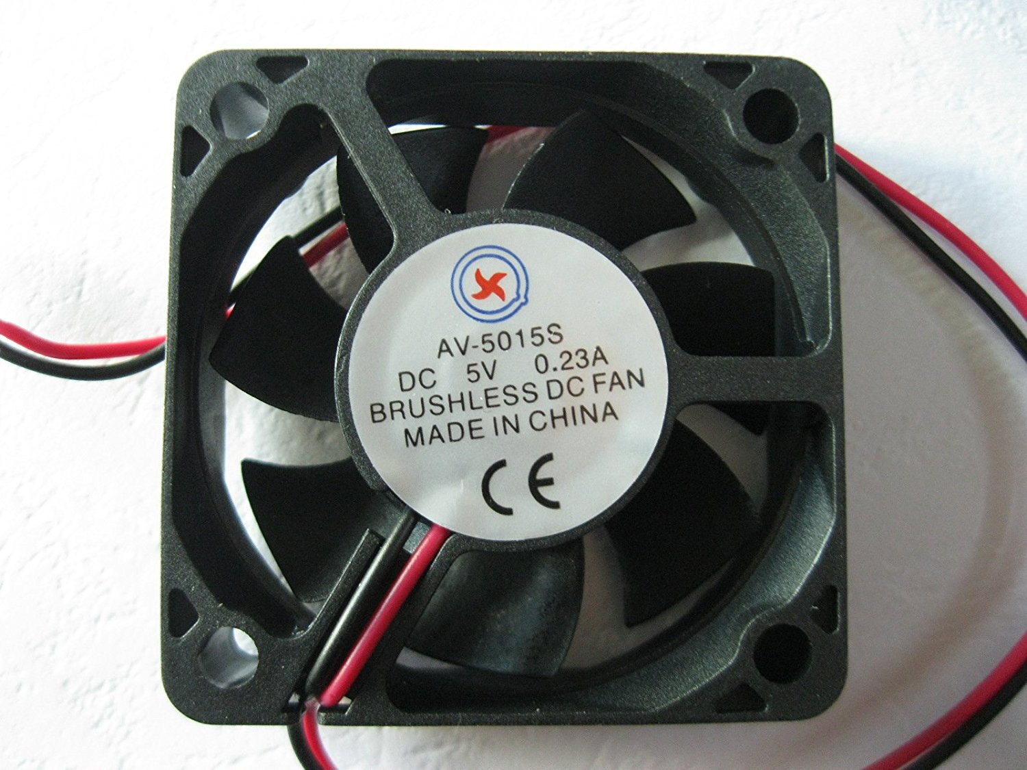 8 pcs Brushless DC Cooling Fan 5V 6020S 7 Blades 60x60x20mm Sleeve-bearing 2Wire
