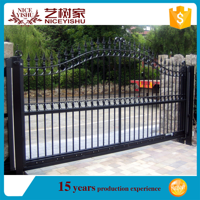 Yishujia Factory Price Wrought Iron Gate Designs For Homes Buy
