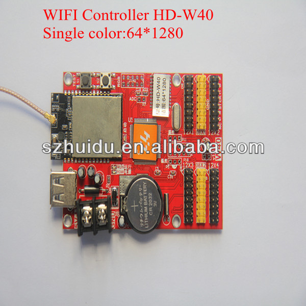 p10(1r)-v701c led display controller HD-W40,usb and wifi port