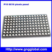 Good Price P10 black pcb 8x32 pixel pitch 10mm RGB ws2812 flexible led matrix