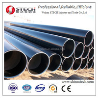 ASTM A53 Grade B LSAW carbon Steel Line Pipe
