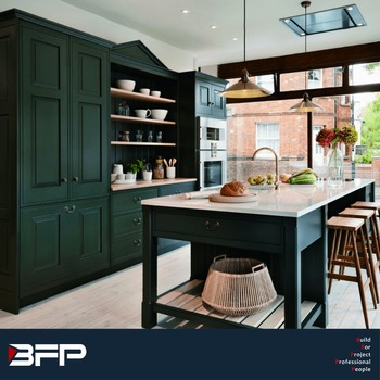 Black Pantry Cupboards And Kitchen Cabinet Supply - Buy Kitchen ...