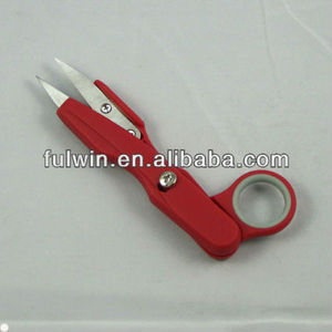 Good stainless steel red mini sewing scissors