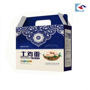Total Natural Pheasant Egg Box Eco-Friendly Feature Food Packaging Box Paper Pulp Egg Tart Box