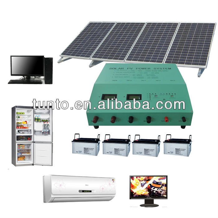 2kw 1kw Solar System for Home, Stand-alone PV Solar Generator for home Use