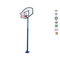 Shenzhen basketball rubber colorful mini basketball hoop outdoor inground