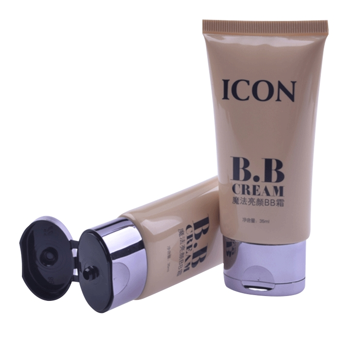 BB eco-friendly free sample custom modern plastic tube  Cosmetic Plastic Tube