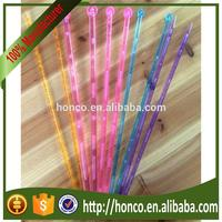 HIgher quality crystal knitting needle for hand knitting