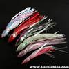 New Glittery laser film sea fishing soft lure squid skirts