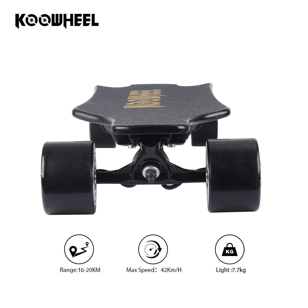 Koowheel Kooboard 700w electric skateboard wireless controller for hub motor wheel with good price, Black;red;blue;green;orange;white