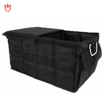 Foldable Premium organizer for car trunk