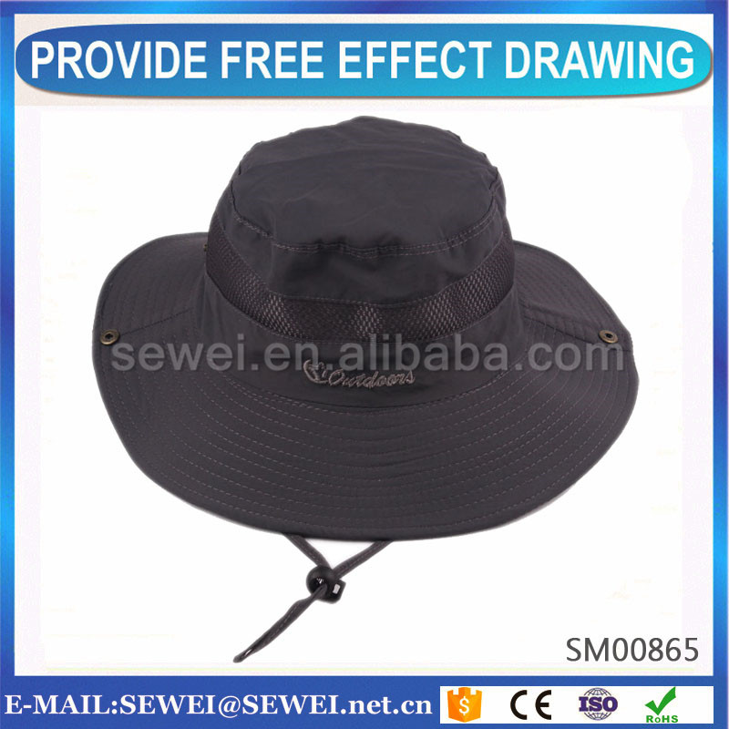 Best quality promotional yellow fisherman hat on sale
