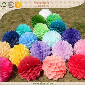 Cheap Birthday Decorations Honeycomb Paper Crafts