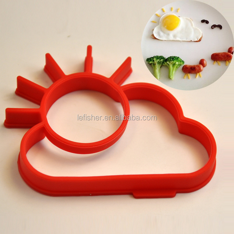 Frying Eggs Pancake Pan for Fried Eggs Pancake,Cat Animal Sun Shape Kitchen Accessory
