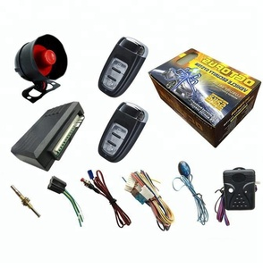 Wheels car alarm system for african market