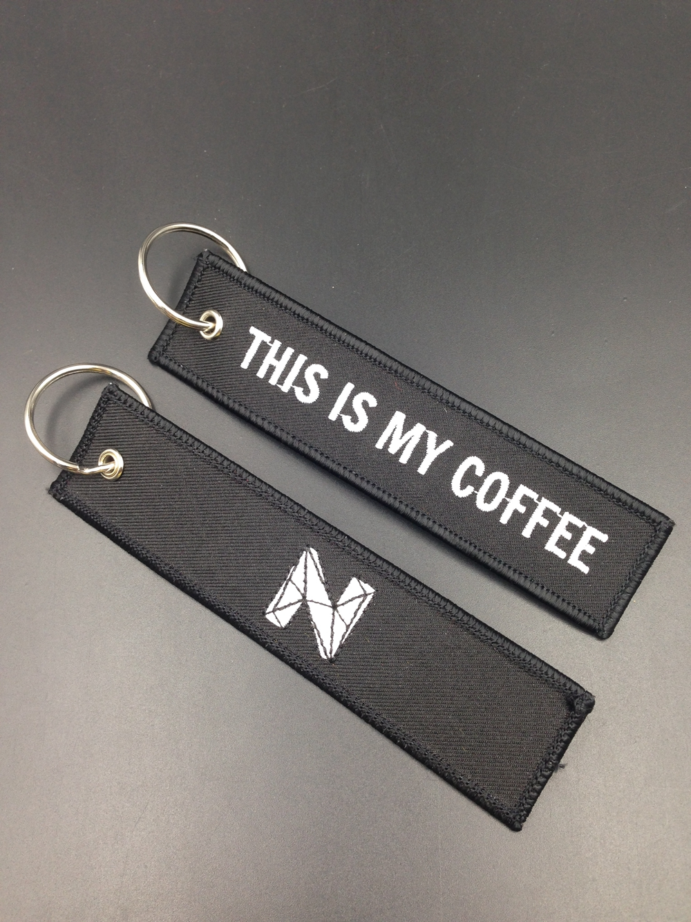 Custom Patches embroidery custom key chain with logo