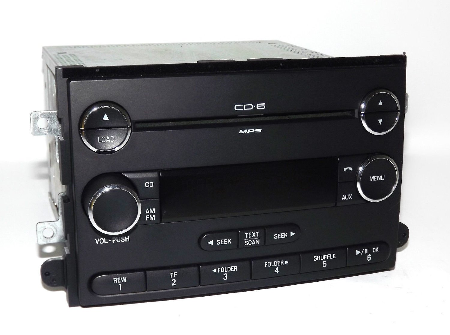 Ford Fusion 2006-09 Mercury Milan AM FM 6 Disc CD Radio Chrome - 8E5T-18C815-AF