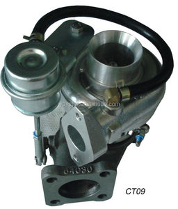 CT9 T3 flange turbo and downpipe for Starlet
