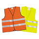 EN20471 Class 2 Hi-viz Security Uniform Reflector Tape Security Jacket Safety Reflective Vest with Logo and Pockets